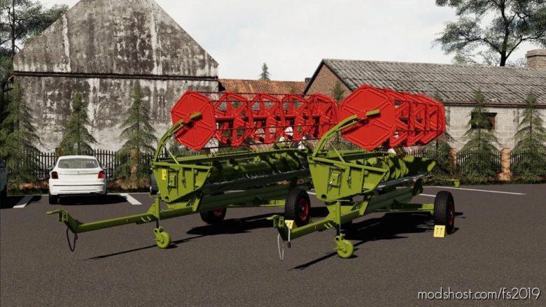 Claas Dominator VX 98 for Farming Simulator 19