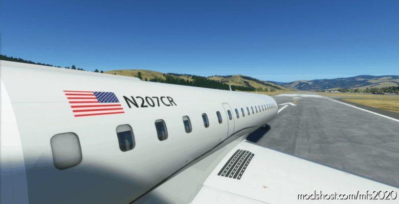 CRJ-700 Private Black for Microsoft Flight Simulator 2020