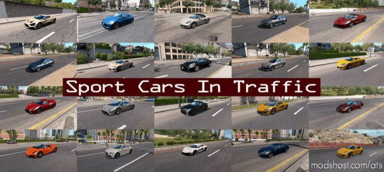 Sport Cars Traffic Pack By Trafficmaniac V8.1.1 for American Truck Simulator