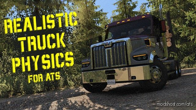 Realistic Truck Physics Mod V8.0 for American Truck Simulator