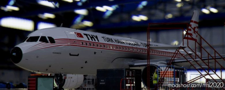 Airbus A320Neo Turkish Airlines Tc-Jnc / 8K (Pyjamas Version) V1.0.1 for Microsoft Flight Simulator 2020