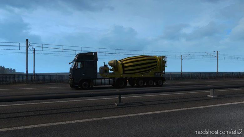 Multiple Trailers In Traffic V7.0 for Euro Truck Simulator 2