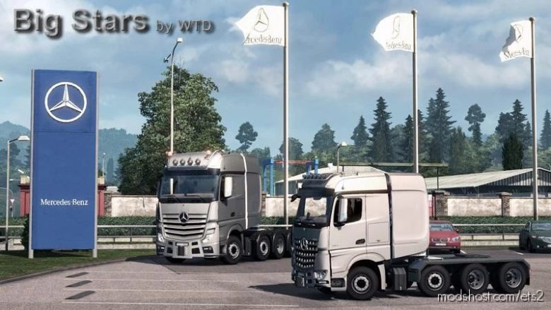 BIG Stars – Actros / Arocs SLT V1.6.5 for Euro Truck Simulator 2