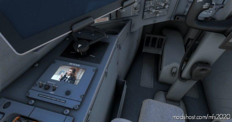 Flight Attendants For Aerosoft CRJ SKY CAM V2 for Microsoft Flight Simulator 2020
