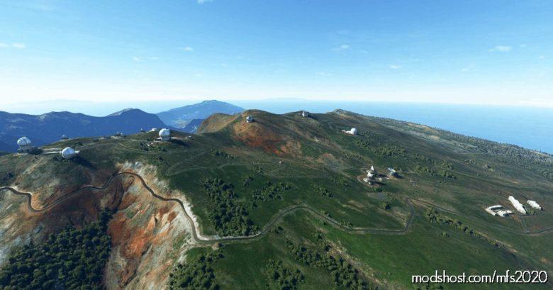 LA Palma And Tenerife Observatories for Microsoft Flight Simulator 2020