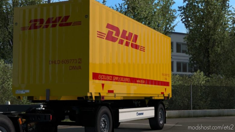 Krone Profi BOX Carrier AZW18 ELB9 V1.1 [1.40] for Euro Truck Simulator 2