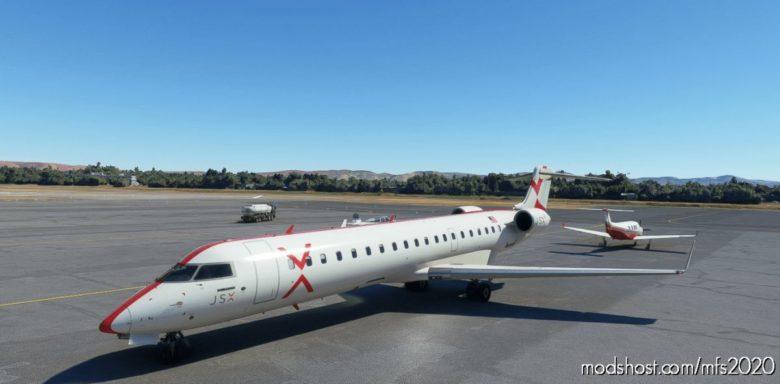 CRJ 700 JSX – 4K V1.1 for Microsoft Flight Simulator 2020