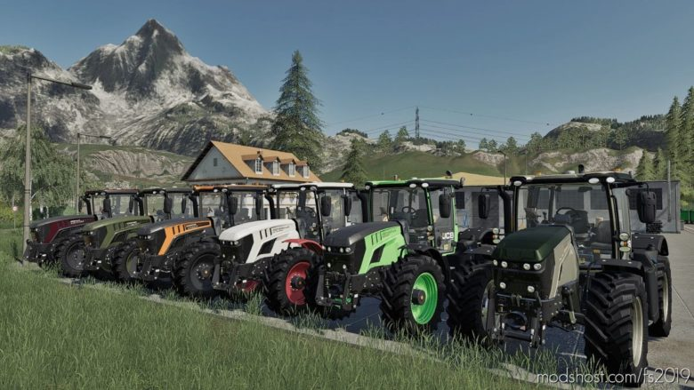 JCB 4220 Agravis Auction's SET for Farming Simulator 19