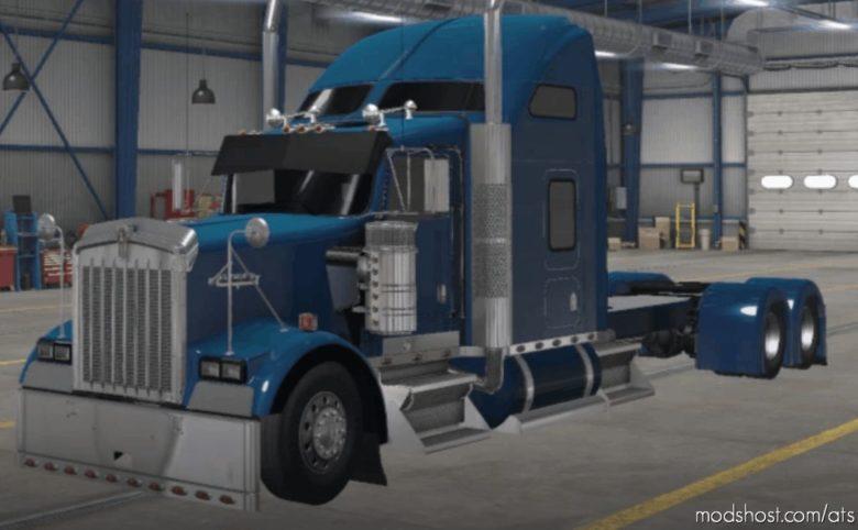 Kenworth W900 Long Truck [1.40] for American Truck Simulator
