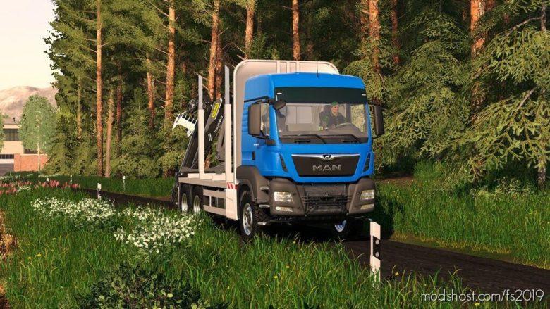 MAN TGS 33.500 Timber for Farming Simulator 19