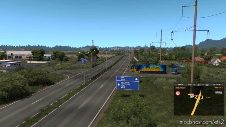 Ukraine Expansion V0.4 [1.40] for Euro Truck Simulator 2