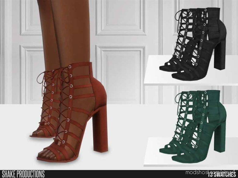 High Heels – 654 for The Sims 4