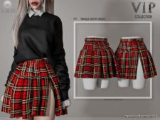 Female Outfit (Skirt) P31 for The Sims 4