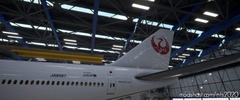B747-8 Japan Airlines JAL (Retro) [4K] for Microsoft Flight Simulator 2020