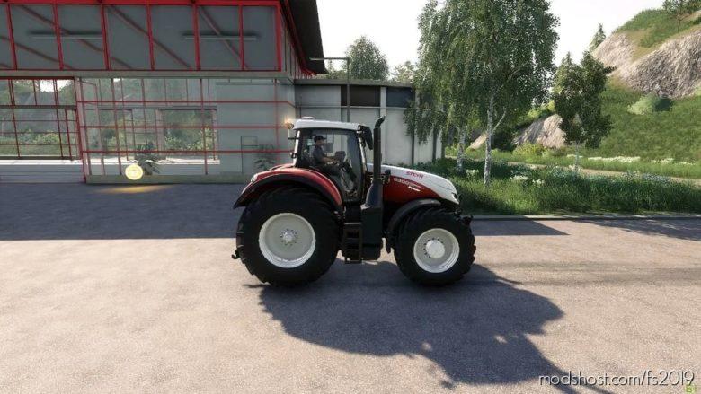 Steyr Terrus CVT With Smoke (Bergbauer Edit) V1.1 for Farming Simulator 19