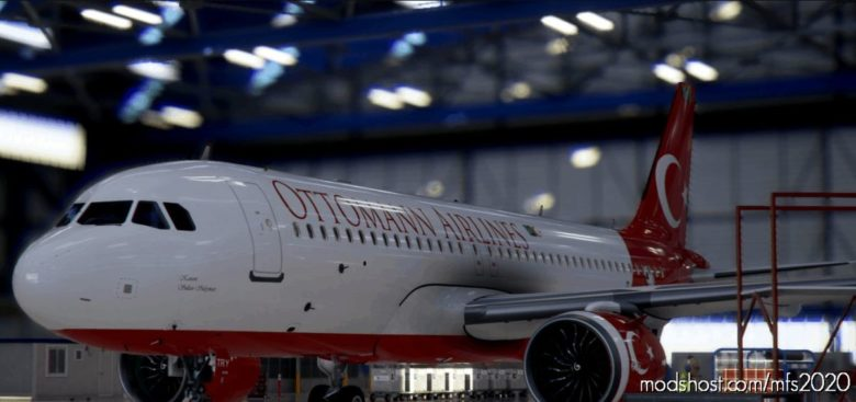 Livery Airbus A320Neo Ottoman Tc-Try / 8K V1.0.1 for Microsoft Flight Simulator 2020