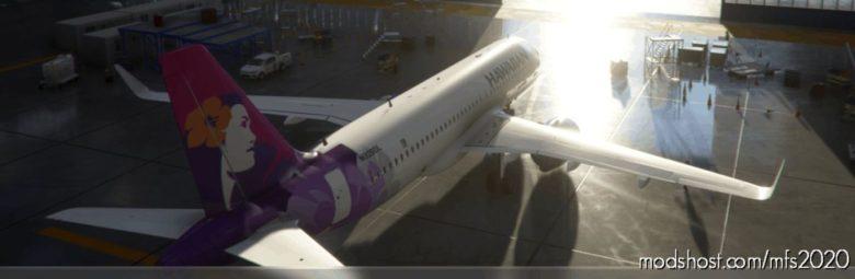 Hawaiian Airlines Remake for Microsoft Flight Simulator 2020