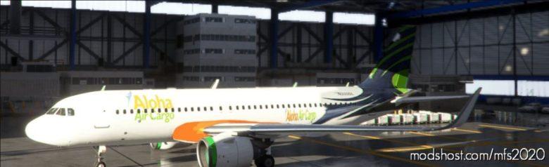 Hawaii Cargo 8K Livery for Microsoft Flight Simulator 2020