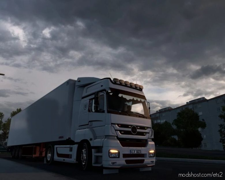 Mercedes-Benz Axor Custom & Trailer [1.40.X] for Euro Truck Simulator 2