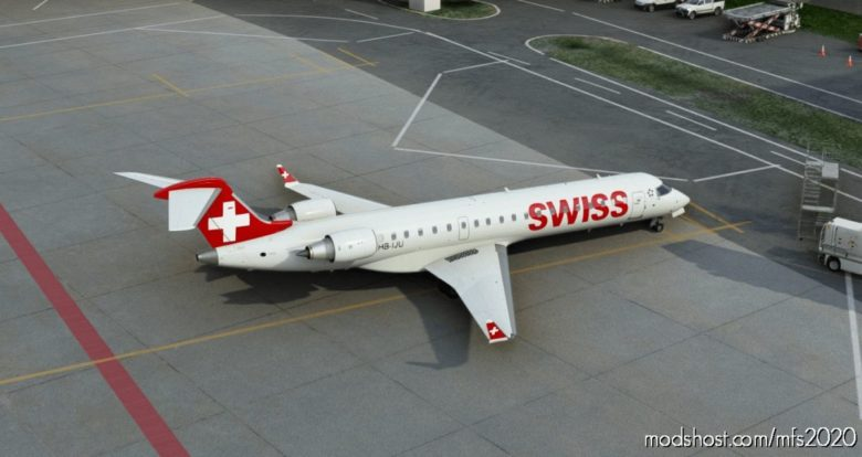 Aerosoft CRJ-700 – Swiss V1.1 for Microsoft Flight Simulator 2020