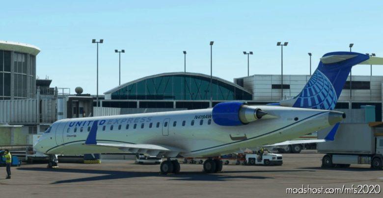 Aerosoft CRJ700 AIR Wisconsin (OLD And NEW Liveries) for Microsoft Flight Simulator 2020