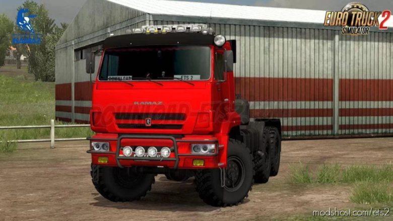 Kamaz 65221 [1.39] for Euro Truck Simulator 2