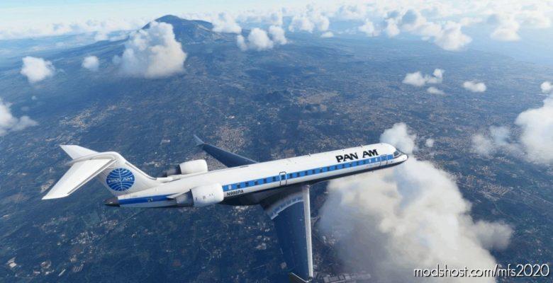 Bombardier CRJ700 PAN AM Early for Microsoft Flight Simulator 2020