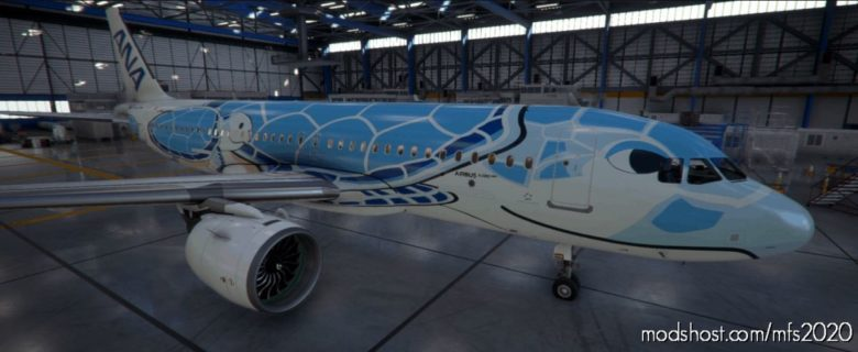 A320Neo Flying Honu (ALL Nippon Airways ANA) [8K] V1.0.0 for Microsoft Flight Simulator 2020