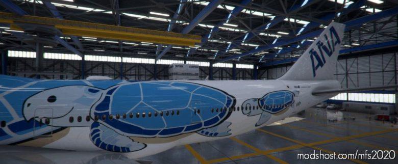 B747-8I Flying Honu (ALL Nippon Airways ANA) for Microsoft Flight Simulator 2020