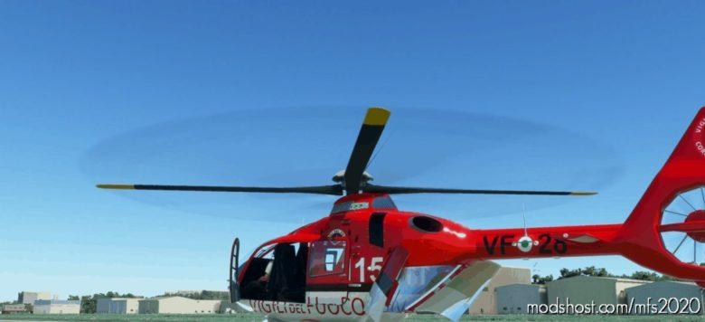 H135 Italian Firefighter for Microsoft Flight Simulator 2020
