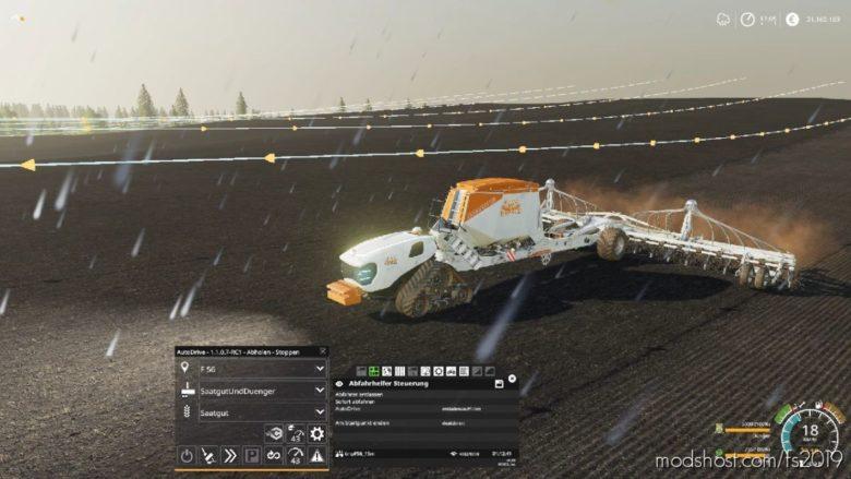 Amazone Condor – Limited Edition – Mario Hirschfeld for Farming Simulator 19