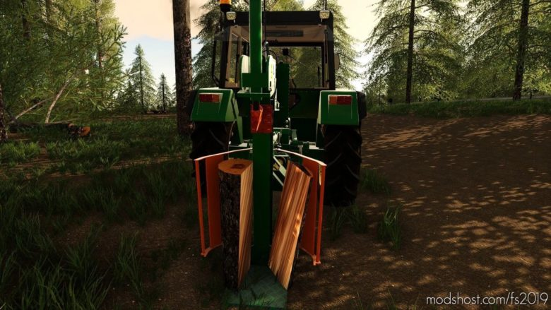 Logsplitter for Farming Simulator 19