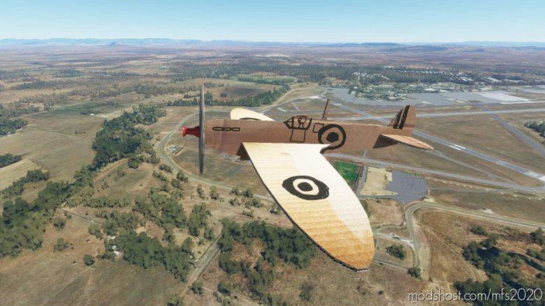 AH Spitfire 5 Aircraft for Microsoft Flight Simulator 2020