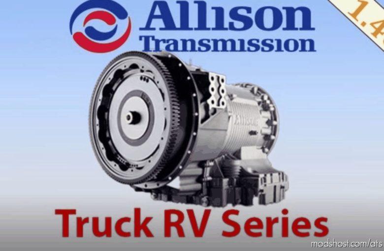 Allison Truck RV Series for American Truck Simulator
