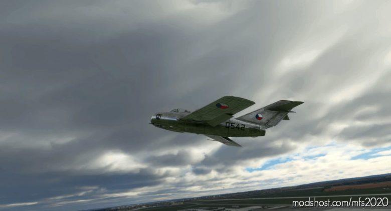 MIG-15 Czechoslovak AIR Force #0542 for Microsoft Flight Simulator 2020