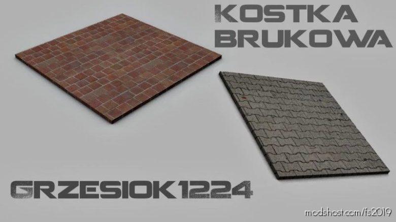 Kostka Brukowa Placeable for Farming Simulator 19