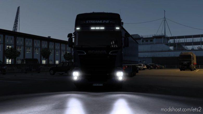 Realistic Headlights V3.0 for Euro Truck Simulator 2