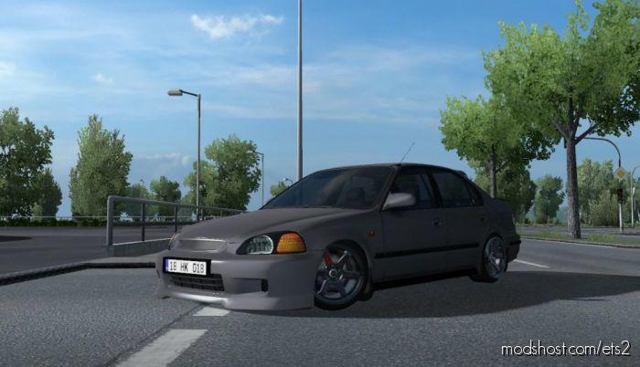 Honda Civic IES V8.0 [1.40] for Euro Truck Simulator 2