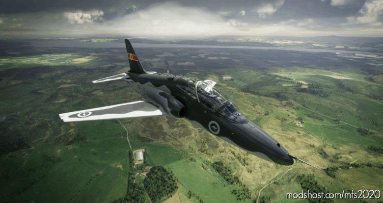 Indiafoxtecho Boeing T-45C Goshawk Raaf Hawk 127 Royal Australian AIR Force Dark Livery V1.1 for Microsoft Flight Simulator 2020