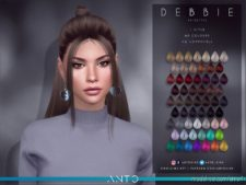 Debbie (Hairstyle) for The Sims 4