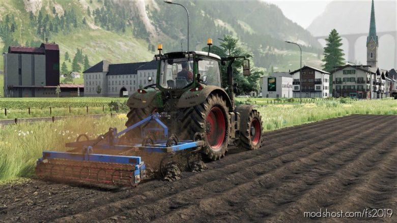 Lizard Cultivator 3M for Farming Simulator 19