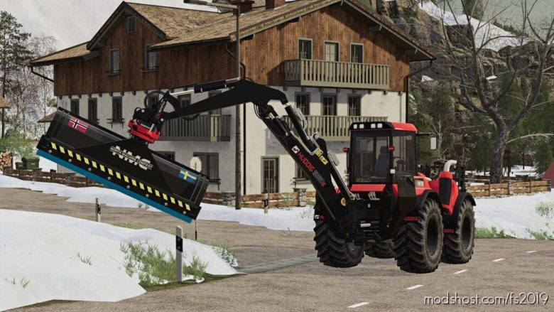 NMC Backhoe Snowplow for Farming Simulator 19