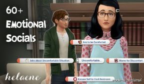 Helaene – Emotional Socials for The Sims 4