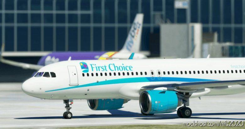 Airbus A320Neo First Choice Airways – 8K for Microsoft Flight Simulator 2020