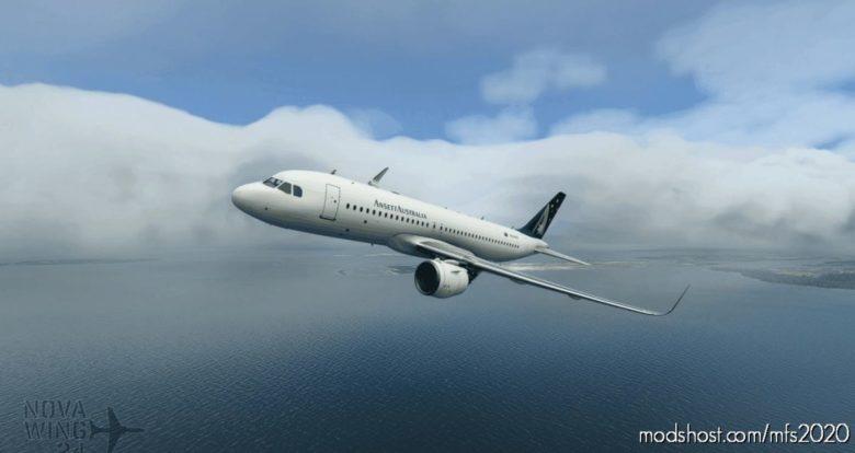 Airbus A320Neo Ansett Australia V1.1 for Microsoft Flight Simulator 2020