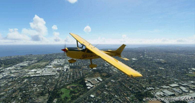Textron Cessna 172 Vh-Din (AIR Cadets) Analogue Gauge V1.2 for Microsoft Flight Simulator 2020