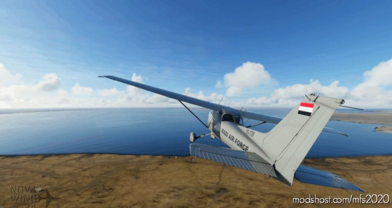 Textron Cessna 172 G1000 Iraqi AIR Force V1.1 for Microsoft Flight Simulator 2020