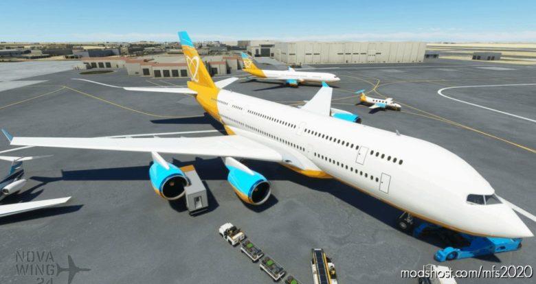 Orbit Airlines AI Livery Pack V1.1 for Microsoft Flight Simulator 2020