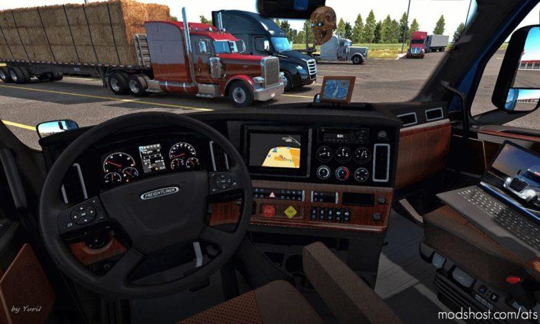 Interior For Freightliner Cascadia 2019 V0.9 for American Truck Simulator