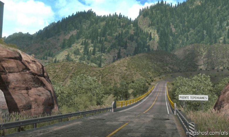Reforma Map V2.1.3 for American Truck Simulator